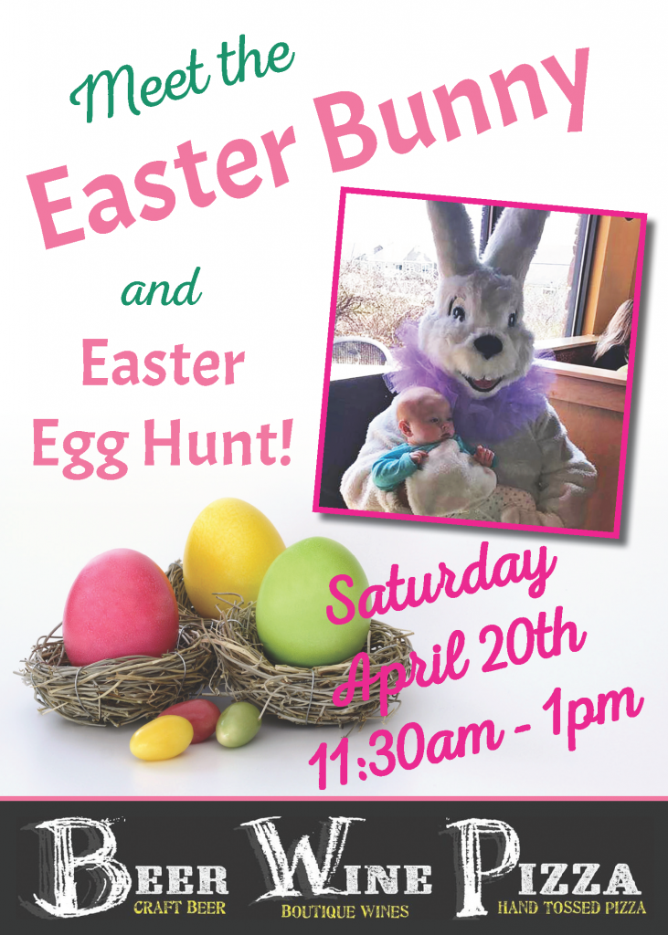 easter bunny and egg hunt